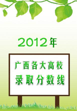 2011年广西各大高