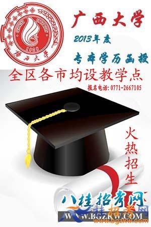 2013年广西大学函